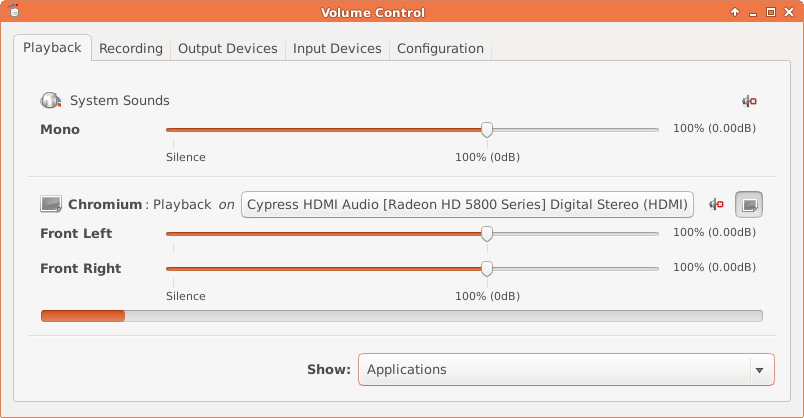 how to get playback device back