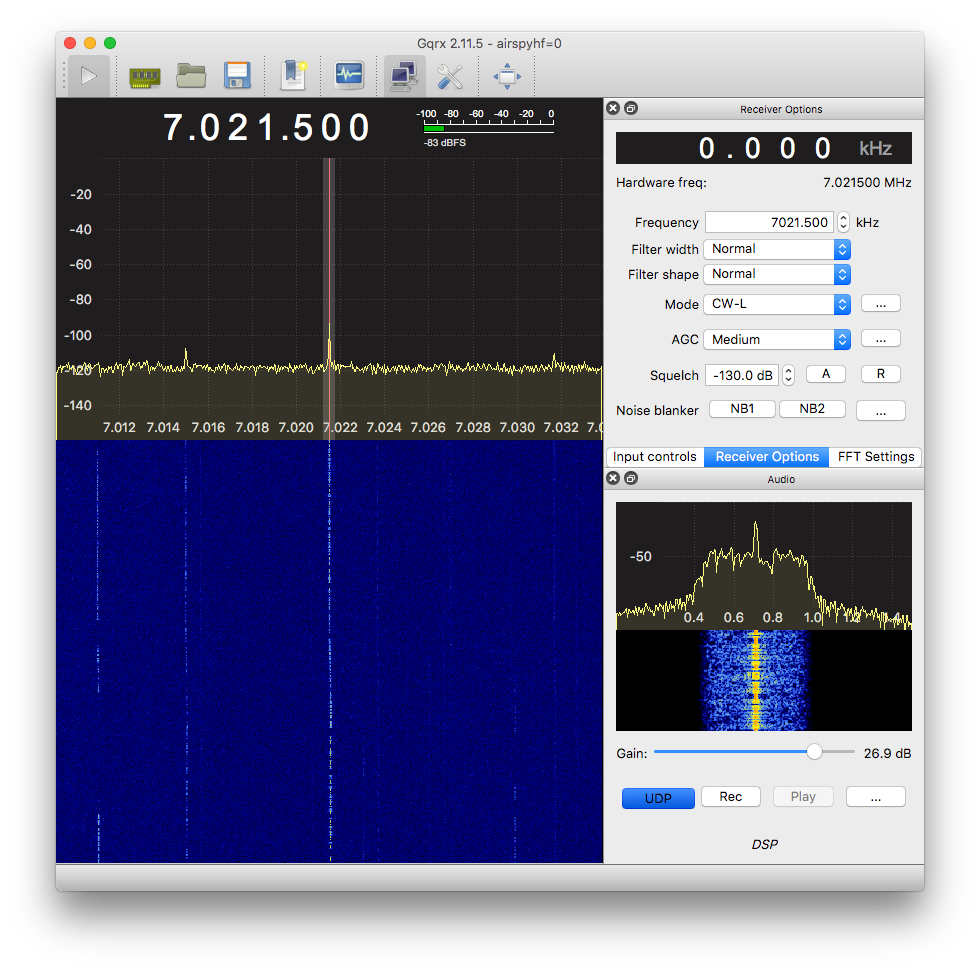 UDP audio stream from Gqrx (4) – Spinor Lab